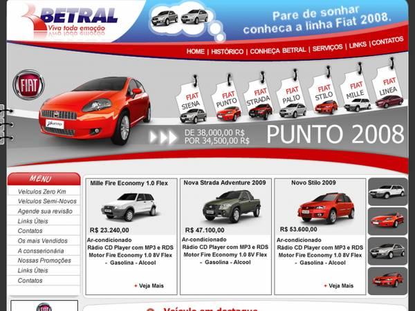 Betral é a concessionária oficial autorizada da marca Fiat no Brasil
