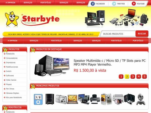 Maior rede de lojas de produtos e serviços de informática do estado