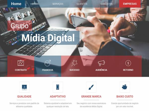Grupo de empresas de tecnologia digital, marketing e mídias sociais